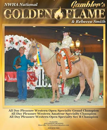 Gambler's Golden Flame WF